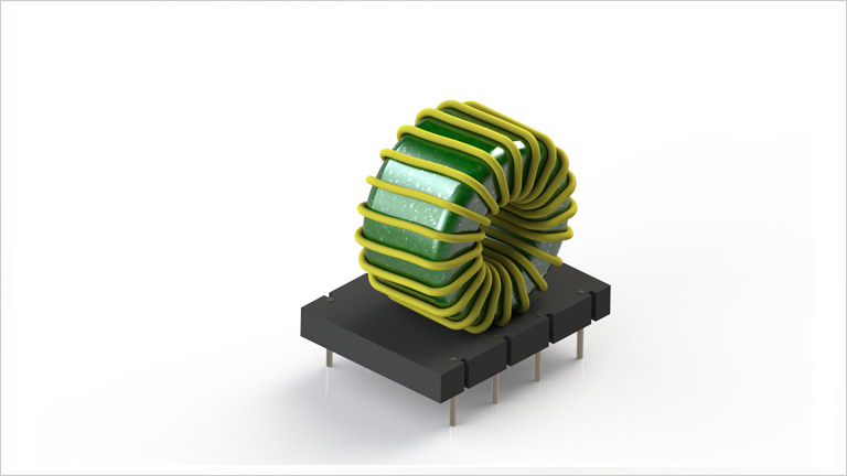 LGL-2504 series of public-mode inductance
